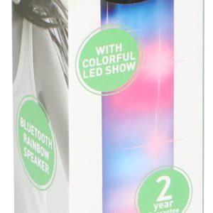 DUNLOPI kaasaskantav LED-kõlar vikerkaare efektiga