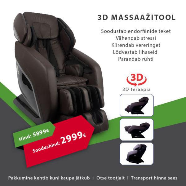 3D massaažitool