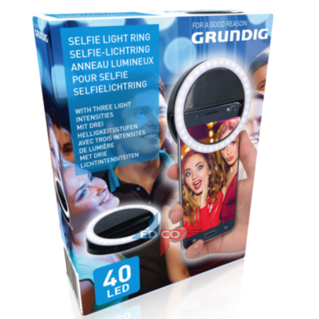 GRUNDIG selfie-rõngaslamp