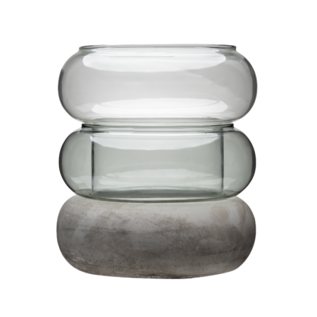 Bagel vaas-küünlajalg Ø 16,5 cm