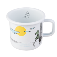 Muurla Moomin Originals Day Dreaming enamel mug 3,7 dl