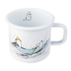 Muurla Moomin Originals Gone fishing enamel mug 3,7 dl