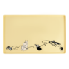 LEMMIKLOOMA silikoonist kausi alusmatt kollane 48 x 30 cm